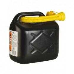 UNITEC Bidon d'essence Jerricane plastique 5 l