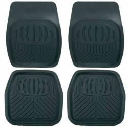 UNITEC Lot de 4 Tapis PVC (Avant 70x50cm) (Arrière 50x50 Cm)