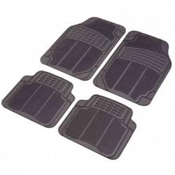 UNITEC Tapis Auto set « Confort » 4 pièces (Avant 69x45cm)(Arrière 43x45cm)