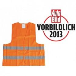 UNITEC Gilet de sécurité Polyester DIN EN 471 orange
