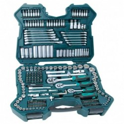 MANNESMANN Coffret d'embouts et clés à douille 0,6 / 0,95 / 1,27 cm 215 pièces