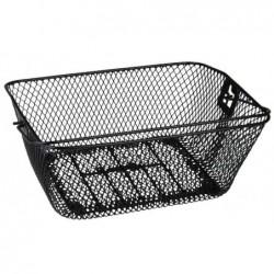 FISCHER proFEX panier de bicyclette pour le porte-bagages, noir