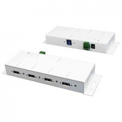 EXSYS hub USB 3.0 en métal,...