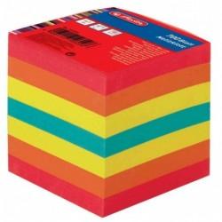 HERLITZ Bloc cube 700f de fiches 90 x 90 mm multicolore 80 g