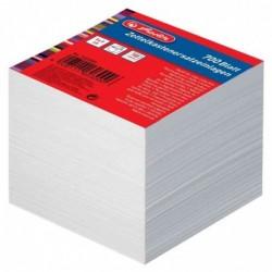 HERLITZ Recharge bloc cube Non encollé 90 x 90 mm 700 feuilles 80g Blanc