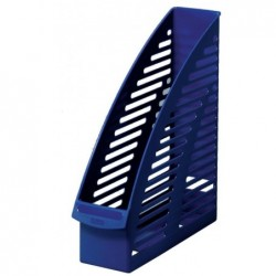 HERLITZ Porte-revues Plastique A4 dos 90 mm Bleu