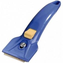 XAVAX Raclette pour plaques de cuisson vitrocéramique, bleu