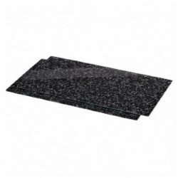 """XAVAX kit planche à découper en verre """"Granit"""", paquet de 2"""