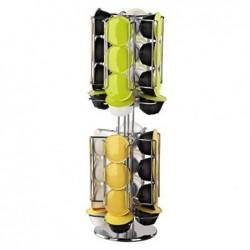 XAVAX Porte-capsules RONDELLO pour 32 Dolce Gusto Chrome