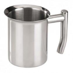 XAVAX pot à lait, en acier...