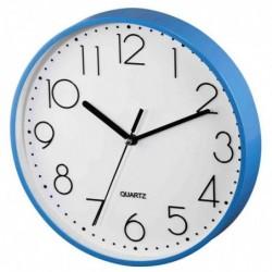 """HAMA horloge murale """"PG-220"""" horloge à quartz Bleu"""