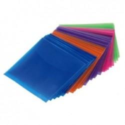 HAMA Lot de 100 Pochettes polypro pour CD/DVD 5 couleurs assorties