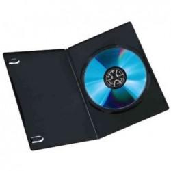 HAMA Lot de 10 boîtier Slim pour 1 DVD Noir