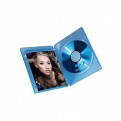 HAMA Boitier vide pour Blu-Ray Slim Case boitier plastique Pack de 3
