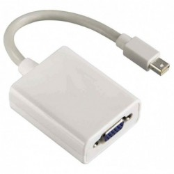 HAMA Adaptateur MiniDisplay port vers VGA Blanc