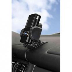 HAMA Support pour véhicule universel en plastique noir pour téléphones portables