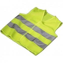 HAMA Veste de sécurité en Polyester jaune fluo