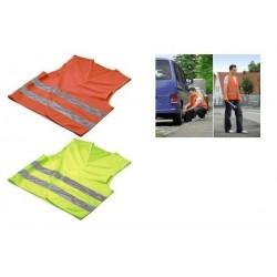 HAMA Veste de sécurité en Polyestère jaune néon