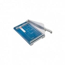 DAHLE Cisaille de bureau 560 A4  Longueur/hauteur de coupe: 350/2,5 mm Bleu