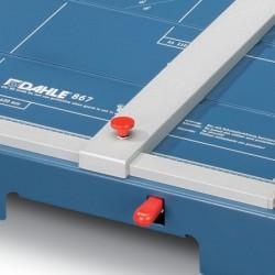 DAHLE Cisaille Professionnelle sécurité 867 Format A3 460mm Env. 35 Feuilles