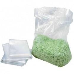 HSM Pqt de 100 sacs plastique pour destructeur 125.2 / B32