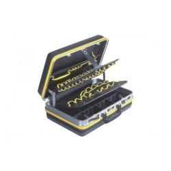 C.K Coffret à outils avec 46 compartiments de rangement, non équipé