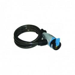 KASP Câble antivol pour vélo, longueur: 80 cm