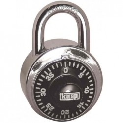 KASP cadenas à combinaison Rond L 48 mm Anse 18 mm 40 chiffres