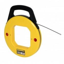 C.K Enrouleur de câble avec tambour Tire Fil Nylon Diam 4 mm 30 m
