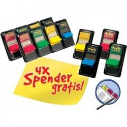 POST-IT 12 x Index 680 PROMO: 8 paquets de 50 marques-pages + 4 Offerts