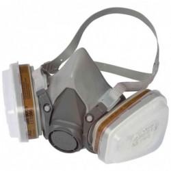 3M demi-masque réspiratoire avec filtres à échange 6002C