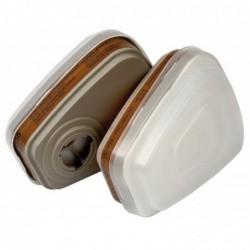 3M filtre de rechange pour demi-masque réspiratoire 6002C