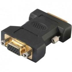 SHIVERPEAKS BASIC -S Adaptateur DVI-I 24+5 Mâle vers VGA 15 broches Femelle