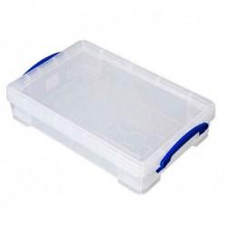 REALLY USE BOX Boîte  plastique 4 L transparent incolore, recyclé, couvercle amovible
