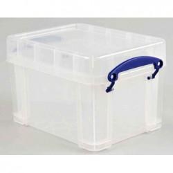 REALLY USE BOX Boîte  plastique 3 L transparent incolore, recyclé, couvercle amovible