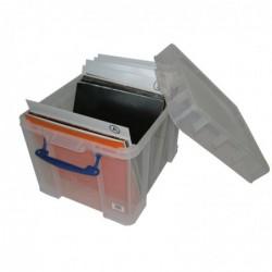 REALLY USE BOX Boîte de rangement en plastique 35 L (L)480 x (P)390 x (H)345 mm XL