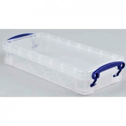 REALLY USE BOX Boîte  plastique 0,55 L transparent incolore, recyclé, couvercle amovible