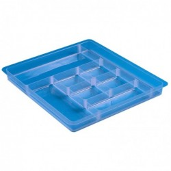 REALLY USE BOX Casier amovible 8 compartimentsavec rebord pour boîte de rangement 4 /9 ou 22L