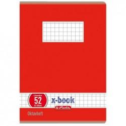 HERLITZ Cahier Octave x.book format A6 quadrillé 70g 60F