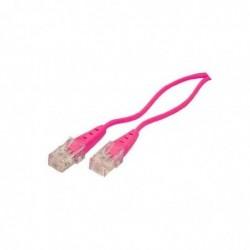 SHIVERPEAKS câble de connexion ISDN, magenta 3,0 m