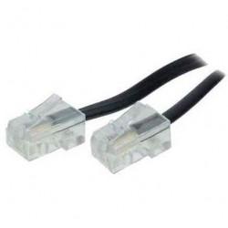 SHIVERPEAKS Câble de connexion ISDN, noir, 6,0 m