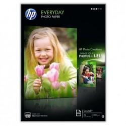 HP Bte 100 feuilles Papier photo Everyday original A4 200g