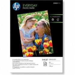 HP Pochette de 25 feuilles Papier qualité photo brillant A4 170 g