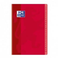 OXFORD Répertoire reliure brochure 21x29,7 cm 192 pages petits carreaux papier 90g