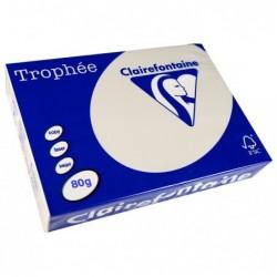 TROPHÉE Ramette 500 Feuilles Papier 80g A4 210x297 mm Certifié FSC  GRIS PERLE
