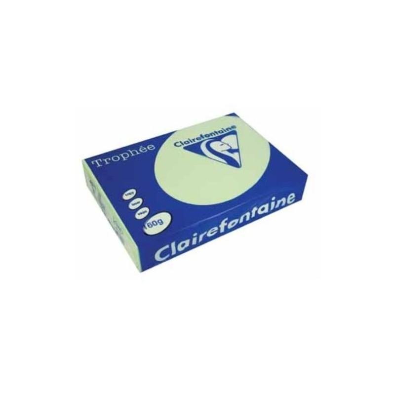 TROPHÉE Ramette 250 Feuilles Papier 160g A4 210x297 mm Certifié FSC  VERT