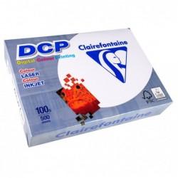 CLAIREFONTAINE Ramette 500 Feuilles Papier DCP 100g A4 210x297 mm Certifié FSC  Blanc