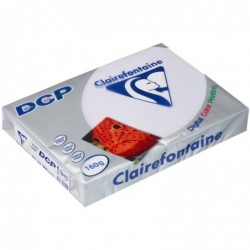 CLAIREFONTAINE Ramette 250 Feuilles Papier DCP 160g A4 210x297 mm Certifié FSC  Blanc