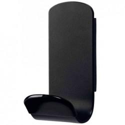 UNILUX Patère magnétique STEELY 381 Capacité 12 Kg Noir