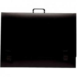 EXACOMPTA Valisette arts graphiques, pour format 500 x 650mm noir